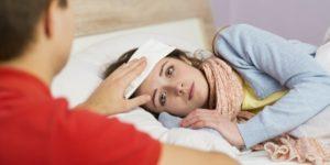 Girl with pneumonia